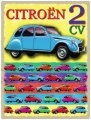Citroen 2CV metal wall sign gift for Deux Chevaux fans