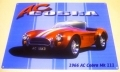 AC Cobra mk3 enamel metal sign muscle car gift V8 1966