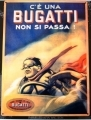 Bugatti Enamel Metal Sign Car Gift