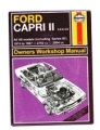 Ford Capri Fridge Magnet