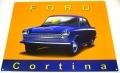 Ford Cortina Mk1 Enamel Metal Sign Car Gift