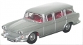 Humber Super Snipe Estate Die Cast Car Gift In Silver Grey 1:76