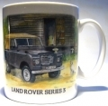 Land Rover Series 3 gift mug, for off road, 4x4, farmers