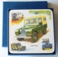 Land Rover Drinks Coasters Boxed Car Gift