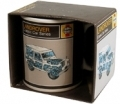 Classic Land Rover Diesel Gift Boxed Mug, Haynes Manual Design