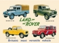 Land Rover Enamelled Metal Sign Four Different Models
