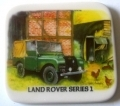 Land Rover Series One Ceramic Coaster 4x4 Gift
