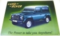 Land Rover Defender metal wall sign gift for 4x4 and off road fa