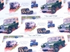 Land Rover gift wrap, Defender, British Army, 4x4, off road