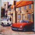 MGA and MGB  roadsters ceramic tile classic car gift