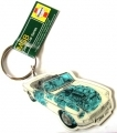 MGB Roadster Key Ring - Haynes Manual Design