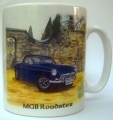 MGB Roadster mug, gift for MG fans