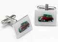 Classic Mini cufflinks (red) car gift, Cooper, Cooper S, 1275 Is
