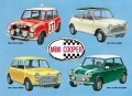 Austin Mini Enamelled Metal Sign Minis Montage