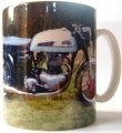 Norton 650 SS Mug, Classic Sports Bike Gift
