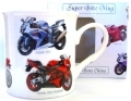 Superbikes Boxed Bone China Mug Bike Gift