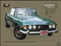 Triumph Stag Enamel Metal Sign Car Gift