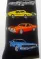 Muscle Car Socks Car Gift Such As Chevrolet Camaro, Mach 1 Musta