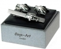 Classic Mini tie bar and cufflinks car gift set, Cooper, Issigon