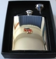 Mini Cooper S Stainless Steel Hip Flask