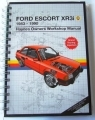Ford Escort XR3i Journal Motoring Gift
